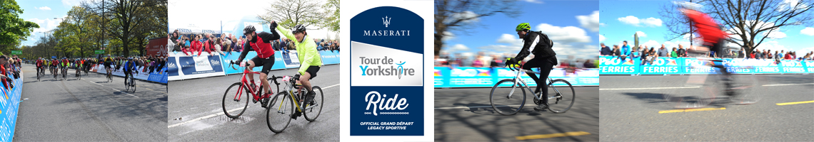 Maserati Tour de Yorkshire Ride 2016
